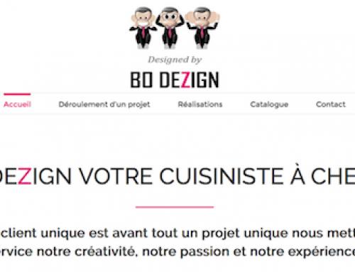Création du site internet BO Dezign