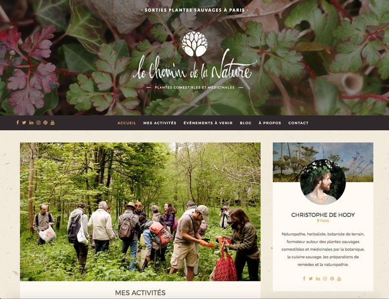 Site Le Chemin de la Nature