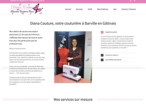 Site Diana Couture